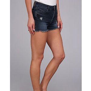 Volcom high rise shorts size 27